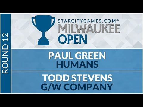 SCGMKE - Round 12 - Paul Green Vs Todd Stevens [Modern]