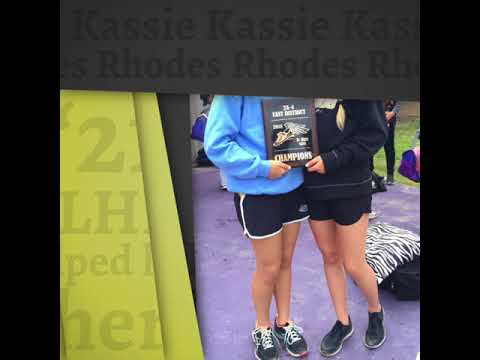 Kassie Rhodes '21 LHP helped her team Win Districts & took 2nd Place in the 4x800 relay