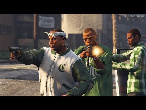GtaV Online (Ps4) - 410 (Sparkz, Y & A.M) - Think Again [Prod. Bkay] (Music Video)