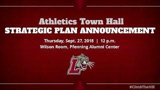 Athletics Town Hall: Strategic Plan Announcement thumbnail