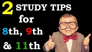 How to study for class 9th & 11th