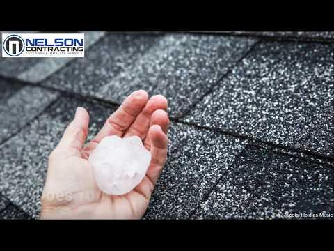 Hail Damage Roof Repair Lincoln & Omaha Nebraska - Nelson Contracting