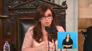 ÚLTIMO DISCURSO DE CRISTINA KIRCHNER ANTE LA ASAMBLEA LEGISLATIVA CIERRE