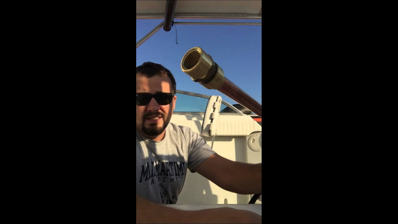 How To Clean Your Boat Fuel Tank Part 1 Youtube Sea Sprite Wiring Diagram