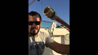 How to clean your boat fuel tank part  1