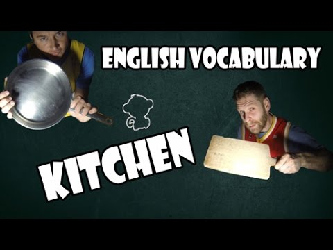 Kitchen - English Vocabulary