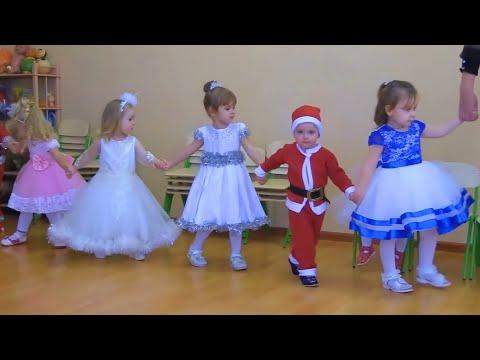 Очень трогательный вход малышей на Новогодний  утренник🎄