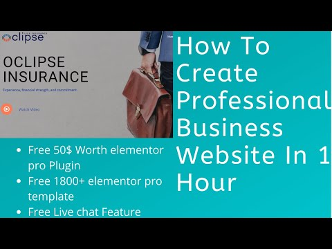 how-to-create-a-business-website-|-build-professional-business-website-with-wordpress-in-1-hour