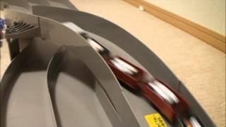 #1 プラレール車両にミニ四駆のモーターを搭載、電池ボルトアップ thumbnail