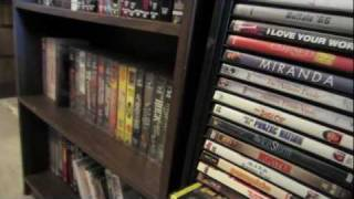 A Hoarders Movie Room Part 2