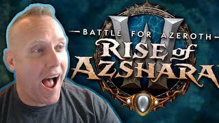 Swifty Reacts to the Rise of Azshara Content Preview WoW BFA 8.2