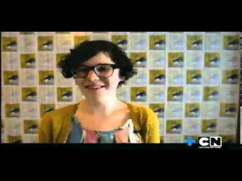 "Cartoon Network LA Steven universe Extra "" Entrevista a Rebecca sobre el episodio piloto "" - YouTube"