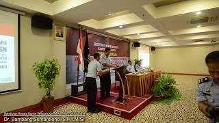 GERAKAN  DISIPLIN ASN PEGAWAI KEMENKUMHAM KANWIL DKI Jakarta