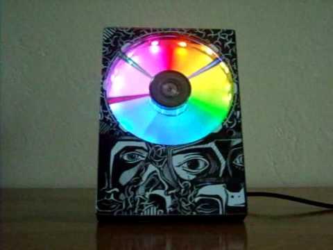 HDD Часы - Часы из жесткого диска - Видео