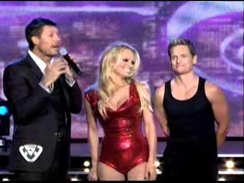 Showmatch 2011 - Pamela Anderson llegó al Bailando
