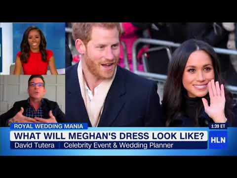Royal Wedding ideas with David Tutera for Prince Harry and Meghan Markle
