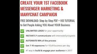 Facebook Messenger Prospecting Tips Jan 2018