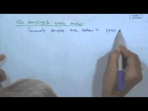 Mod-01 Lec-25 Ground Water Salinity And Samples ;Graphical Representations Of Ground Water Quality