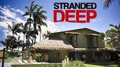 STRANDED DEEP 🏝️ [LIVE] #08 Mein Haus am Strand! [Cam]