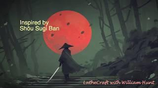 Woodturning - Shou Sugi Ban bowls