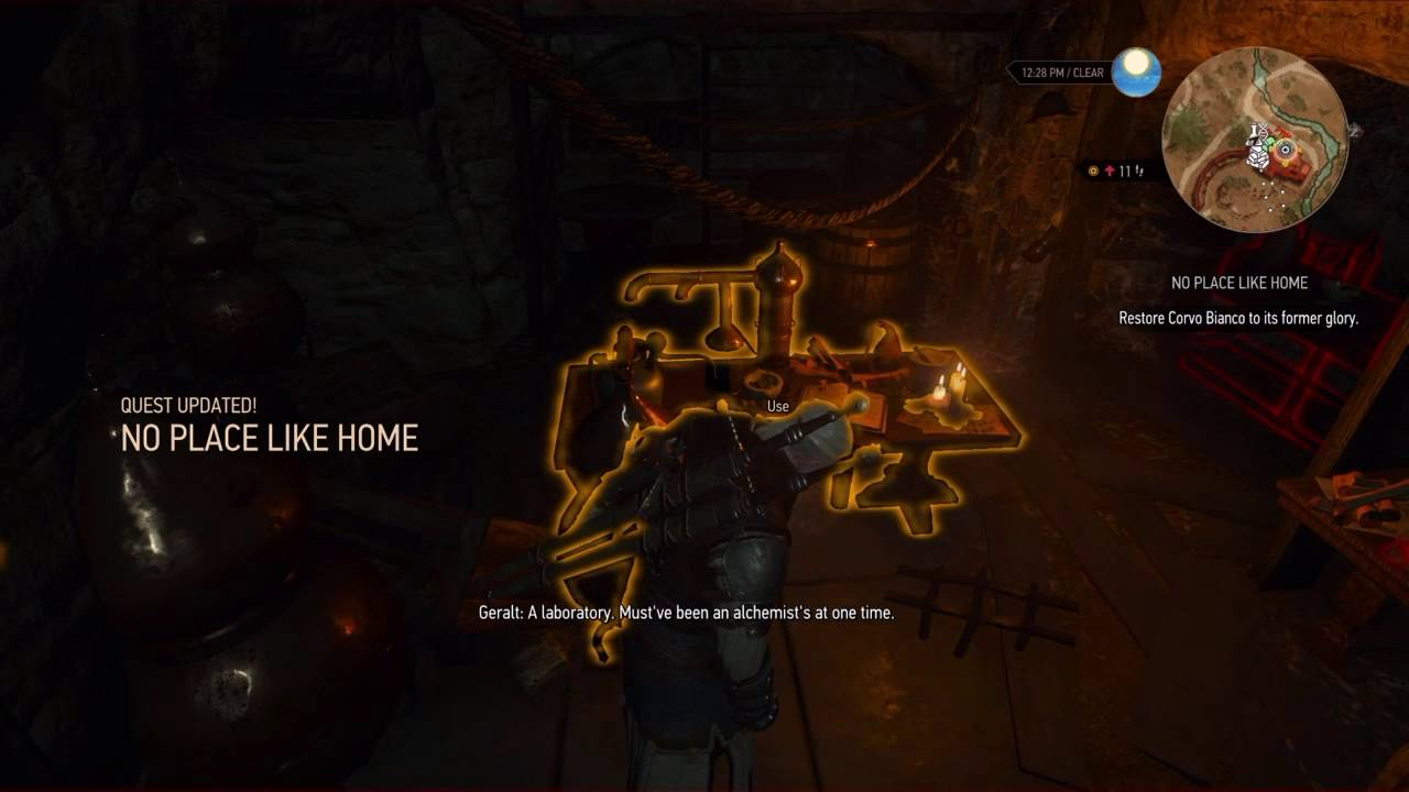 the witcher 3 ps4 blood and wine no place like home corvo bianco