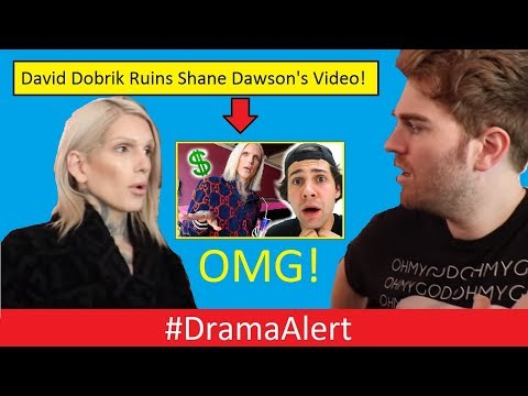 David Dobrik ruins Shane Dawson s Jeffree Star Documentary? #DramaAlert Clout Gang (FOOTAGE)