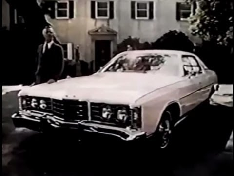 Ford Ltd Brougham Commercial 1972 Youtube