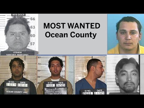 Most wanted in Ocean County