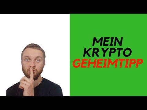 Mein Kryptowährungen Geheimtipp