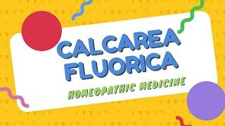 CALCAREA FLUORICA HOMEOPATHIC MEDICINE [Urdu/Hindi]