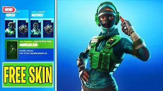 "Nouveau 'FREE' ""INSTINCT SKIN BUNDLE"" à Fortnite (Free SKIN - VBUCKS)"