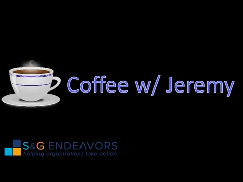 S&G Endeavors: Coffee With Jeremy w/ Special guests: Roland Livingston and Jerry Glover