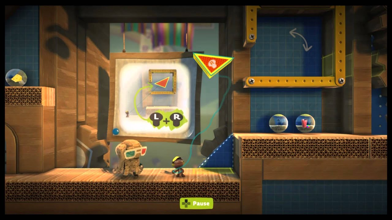 Little big planet select the red lion emblem sticker from your.