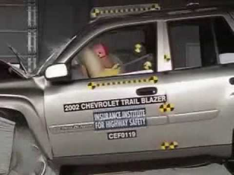 Crash Test 2002  2004 GMC Envoy  Chevrolet Trailblazer