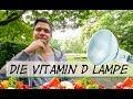 Die Vitamin D Lampe   UV-B Lampe   Veganezeit