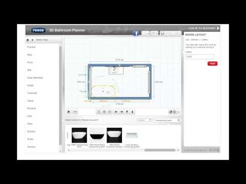 Tutorial 3 - Products. Reece 3D Bathroom Planner.