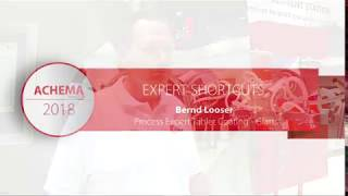 Glatt. Experts. Achema 2018. Bernd Looser_Process Expert for Tablet Coating