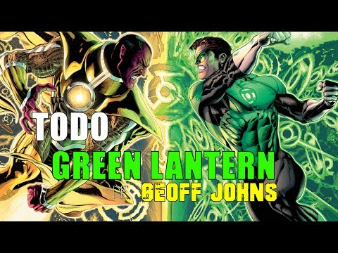 TODO Green Lantern de Geoff Johns