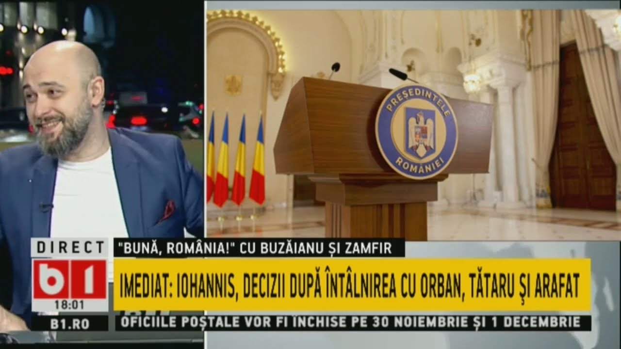 BUNA, ROMANIA! IOHANNIS: CEREMONIE FARA PARADA DE 1 DECEMBRIE P1/2