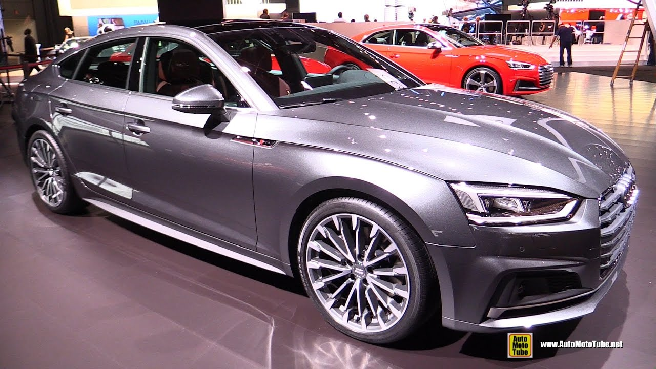 2017 audi a5 sportback exterior and interior walkaround. Black Bedroom Furniture Sets. Home Design Ideas