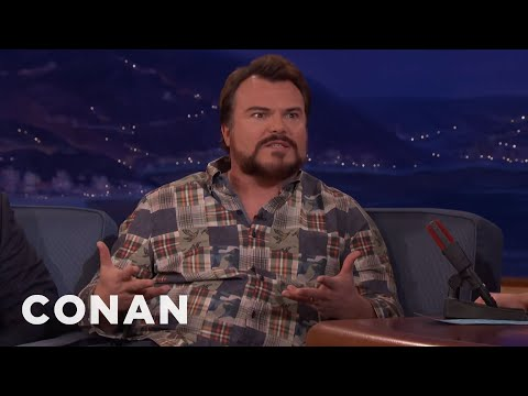 Jack Black: Trump Stole Tenacious D's Shtick  - CONAN on TBS