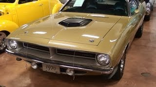 1970 Plymouth Cuda 440 Six Pack Mopar Muscle Car