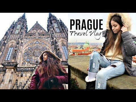 FIRST DAY IN PRAGUE! Meeting Camie, Vegan Donuts, Restaurant Opening & Last Day Of Hanukkah!