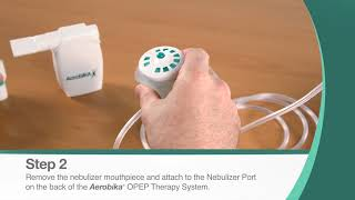 Guidelines For Using Your AEROBIKA® OPEP Therapy System With A Nebulizer