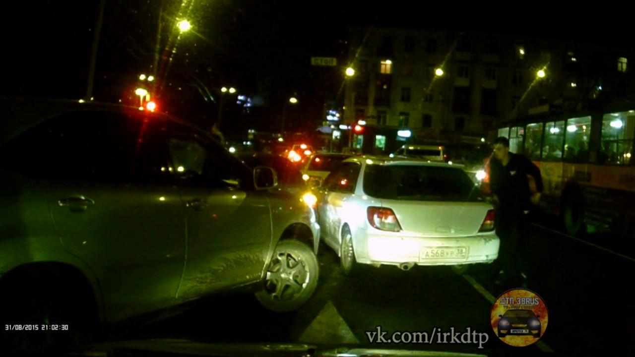 Дтп Ленина/Тимирязева Иркутск
