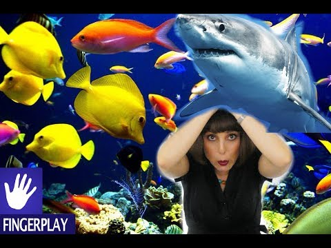 Songs For Kids - Slippery Fish By Alina Celeste - Learn English And Fine Motor Skills!