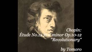 "Chopin Étude No.12 in C minor Op.10-12 ""Revolutionary"""