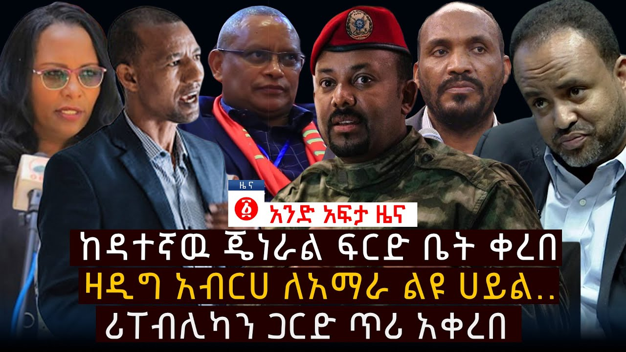 Zadig Abraha speaks about Amhara special forces
