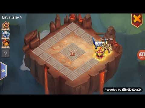 3 Man Lava 4!!!! Castle Clash