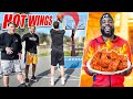 Basketball But 1 Miss = 1 Extreme Hot Wing